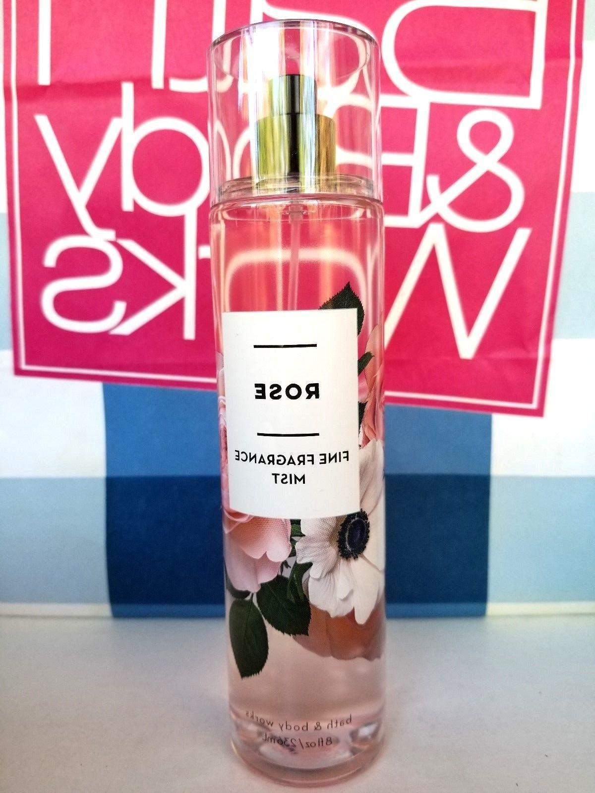 Bath And Body Works Rose Fragrance Mist Spray