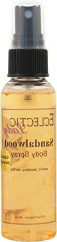 Sandalwood Body Spray , 2 ounces