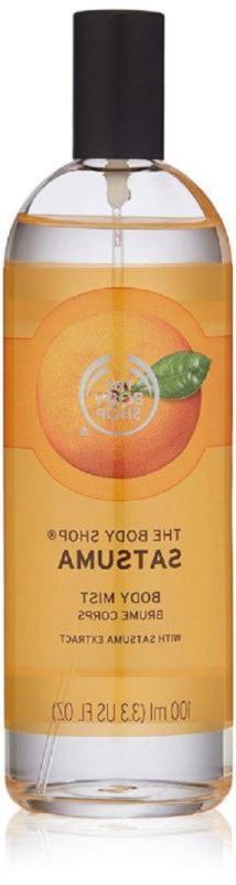 The Body Shop Satsuma Mist, Paraben-Free Spray, 3.3 Fl. Oz.