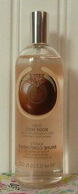 THE BODY SHOP SHEA BODY MIST 3.3 OZ SPRAY FRAGRANCE