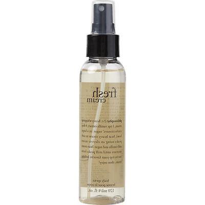 Philosophy Fresh Cream by Philosophy Body Spritz 4 oz