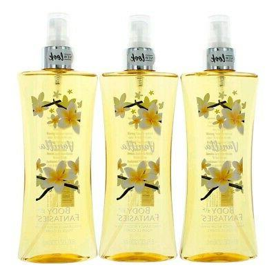 vanilla by body fantasies 3 pack 8