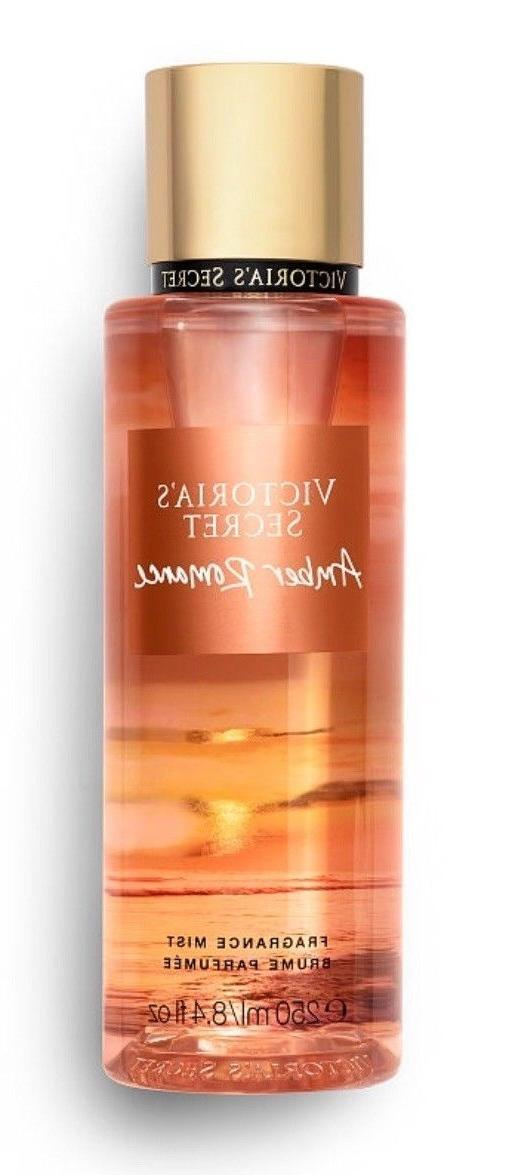 victoria s secret amber romance fragrance body