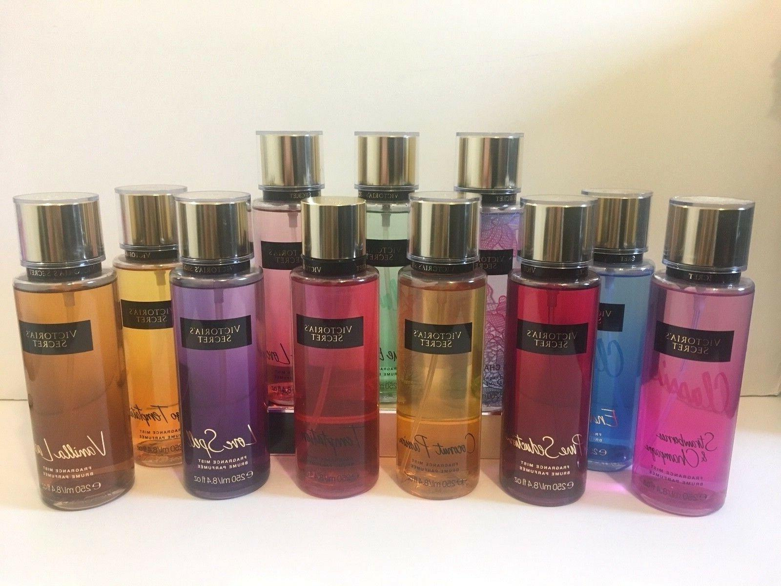 victoria s secret fragrance body mist spray