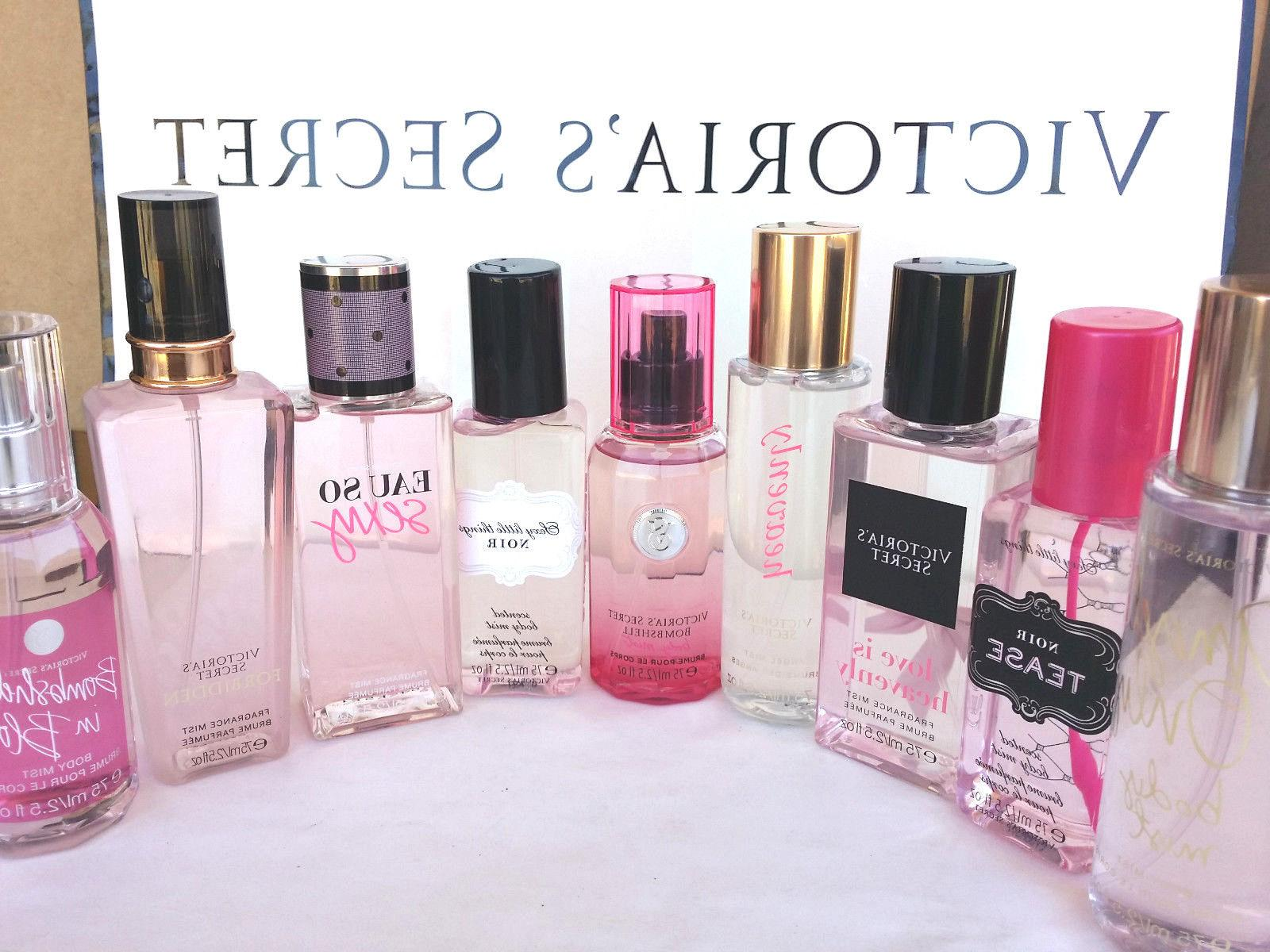VICTORIA'S SECRET TRAVEL SIZE FRAGRANCE BODY MIST SPRAY PERF