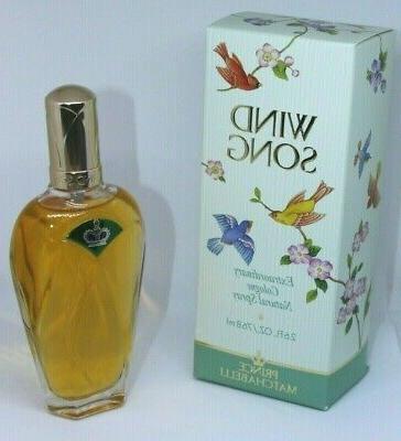 vintage wind song body spray perfume 1993