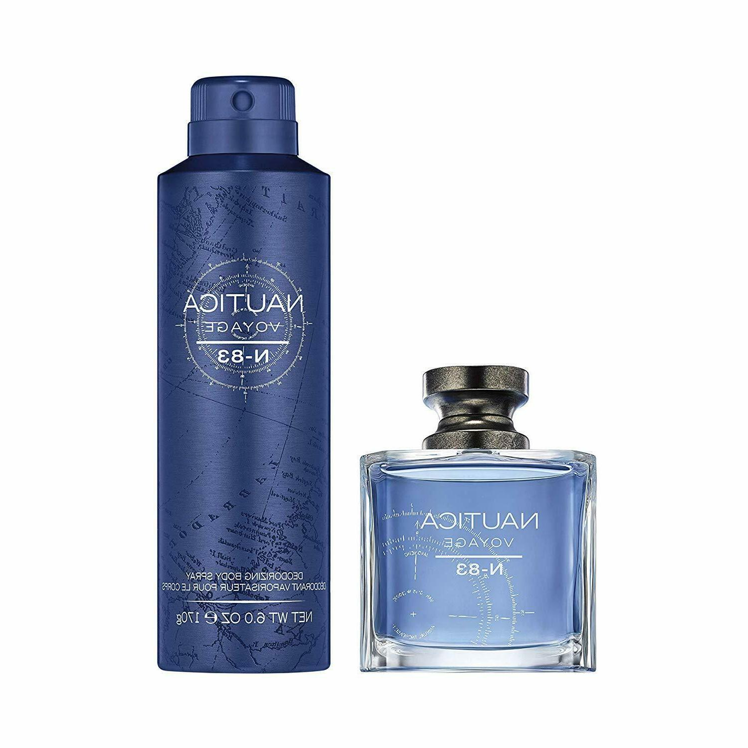 Nautica Voyage Gift Set: Toilette 1.7 Spray 6.0