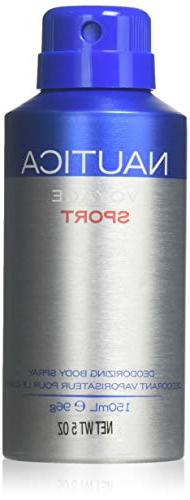 Nautica Voyage Sport - 5.07 Ounce Deodorizing Body Spray, 5.