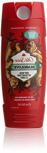 Old Spice Wild Collection Bearglove Men's Body Wash, 16 Flui