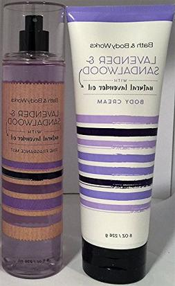 Bath & Body Works Lavender & Sandalwood Fine Fragrance Mist