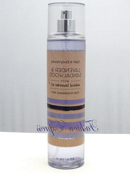 Bath & Body Works Lavender & Sandalwood Fine Fragrance Body