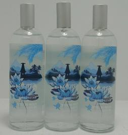 Lot of 3 The Body Shop Fijian Water Lotus Body Mist 3.3oz Fr