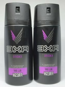 Axe Men Deodorant Body Spray Excite New Bottle 150 Ml PACK O