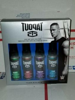 Tapout Mens Body Spray Deluxe Sampler John Cena Wrestler Gif