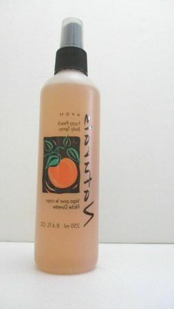 AVON  Naturals Body Spray Fuzzy  -   Peach   -   NEW