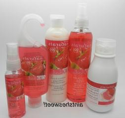 AVON Naturals STRAWBERRY & GUAVA - Choose Spray, Lotion OR S