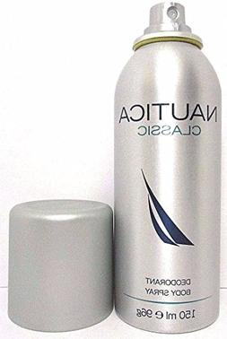 Nautica Classic Deodorant Body Spray 150 ml 5 oz for Men