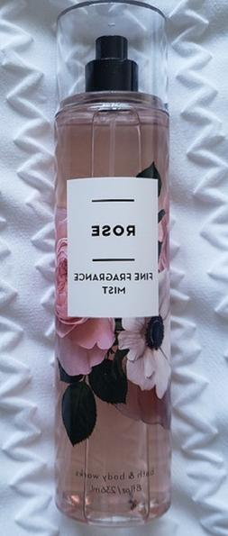 NEW BATH & AND  BODY WORKS ROSE FINE FRAGRANCE MIST BODY SPR