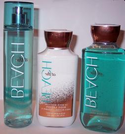 NEW! Bath & Body Works AT THE BEACH Shower Gel Lotion Spray