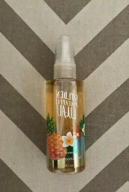 new bath and body works golden pineapple