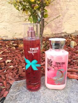 NEW Bath Body Works Retired Velvet Sugar Body Lotion & Fragr