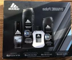 New Adidas Dynamic Pulse Men's Fragrance Boxed Gift Set 4 Pc