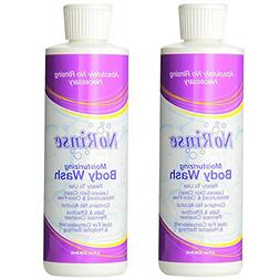 No-Rinse Body Wash 2 Bottles, 8FL bottles