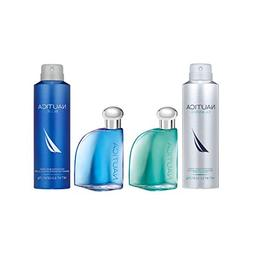 Nautica Omni 4 Piece Eau De Toilette & Deodorant Body Spray,