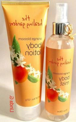 The Healing Garden Orange Blossom Body Mist Spray & Body Lot