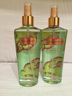 Victoria's Secret Set of 2 Pear Glace Fragrance Mist 8.4 Oun
