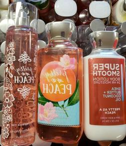 PRETTY AS A PEACH LOT 3 Bath Body Works PRIOR SHIP LOTION, B