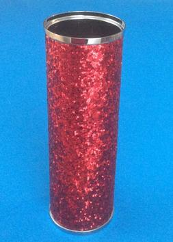 NEW BATH & BODY WORKS RED GLITTER METAL FINE FRAGRANCE MIST