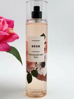 Bath and Body Works ROSE Fragrance Mist Spray 8 fl oz / 236