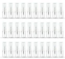 ZbFwmx 30 Pack Set 2ML Empty Mini Perfume Glass Bottle Mist