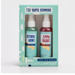 Shimmer Spray Body Fragrance Mist Gift Set - 2pc - 4 fl oz -
