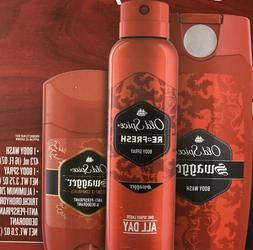 Old Spice Swagger Collection 16oz Body Wash 3.7oz Body Spray