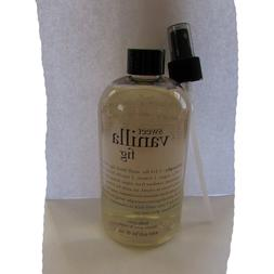 Philosophy Sweet Vanilla Fig Body Spritz 16oz with spray pum
