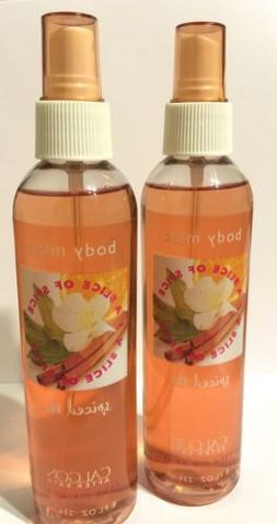 CALGON TAKE ME AWAY SPICED TEA A SLICE OF SPICE BODY MIST SP