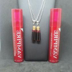 VAMPIRE BODY SPRAY PERFUME & BLOOD VIAL NECKLACE SET