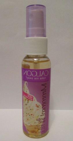 Calgon Vanilla Swirl body mist spray 2oz discontinued