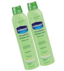 vaseline intensive care spray moisturizer aloe soothe