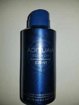 Nautica Voyage N-83 All-Over Body Spray, 4 oz