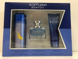 Nautica Voyage Set! Shower Gel, Toilette Spray and Deodorizi