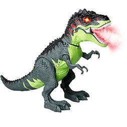 Celiy Walking Dragon Toy Fire Breathing Water Spray Dinosaur