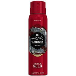 Old Spice Refresh Body Spray, Hawkridge 3.75 oz