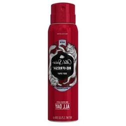 Old Spice Wild Collection Wolfthorn Men's Body Spray, 3.75 o