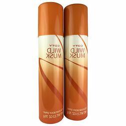 Wild Musk Women Cologne Body Spray 2.5 oz 2 Pack