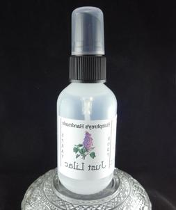 Women's LILAC Body Spray, Genuine All Natural Fragrance Room