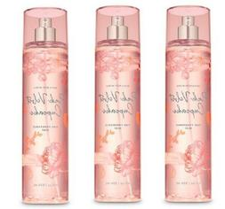 x3 Bath and & Body Works Pink Velvet Cupcake Fine Fragrance